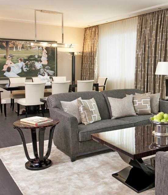 Wohnzimmer Inspiration Art Deco Möbel