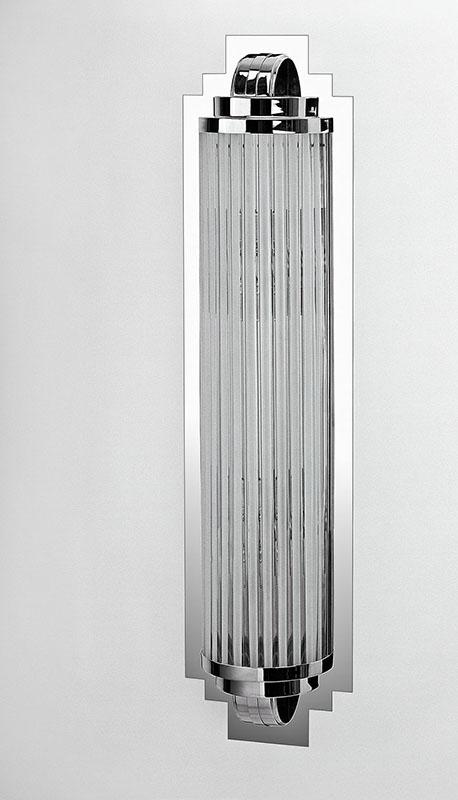 Wandleuchte WL21, H.100 x B.25 x T.9,5 cm, 4x E14
