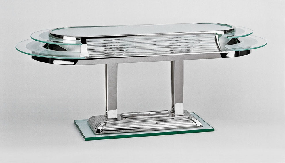 Tischleuchte TL15, L.70 x B.30 x H.40 cm, 4x E14