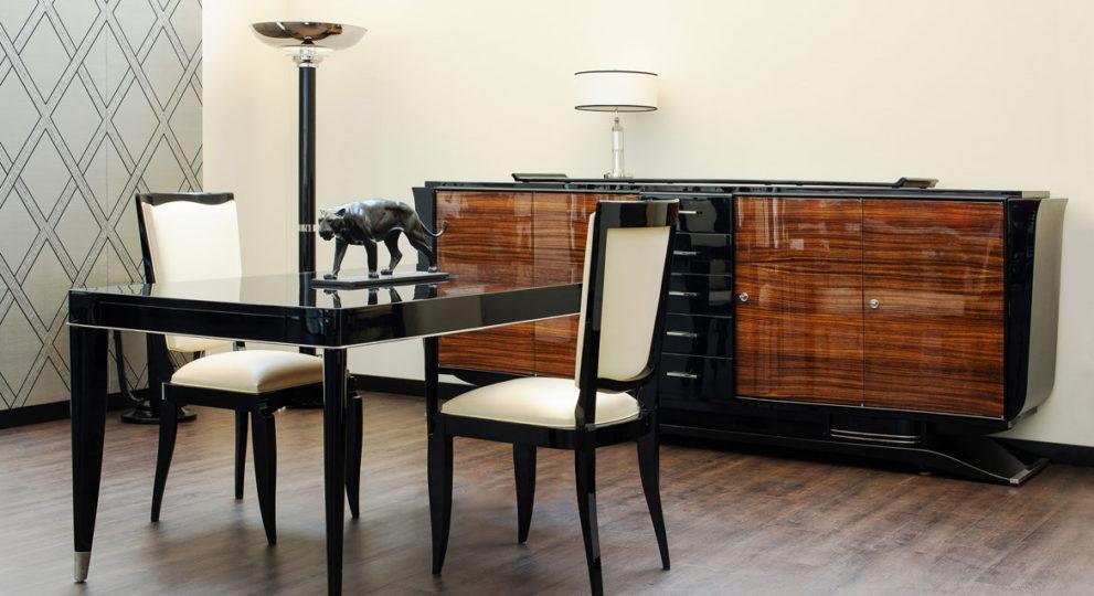 Wohnzimmer Inspiration mit Art Deco Möbel