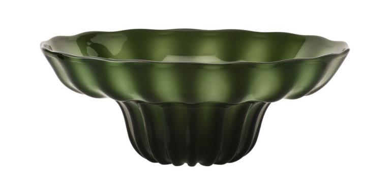Schale NINFEA grün, Kollektion VENINI Murano, € 1.690,00