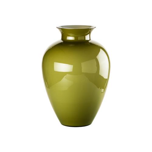 Vase Venini rund und in grün