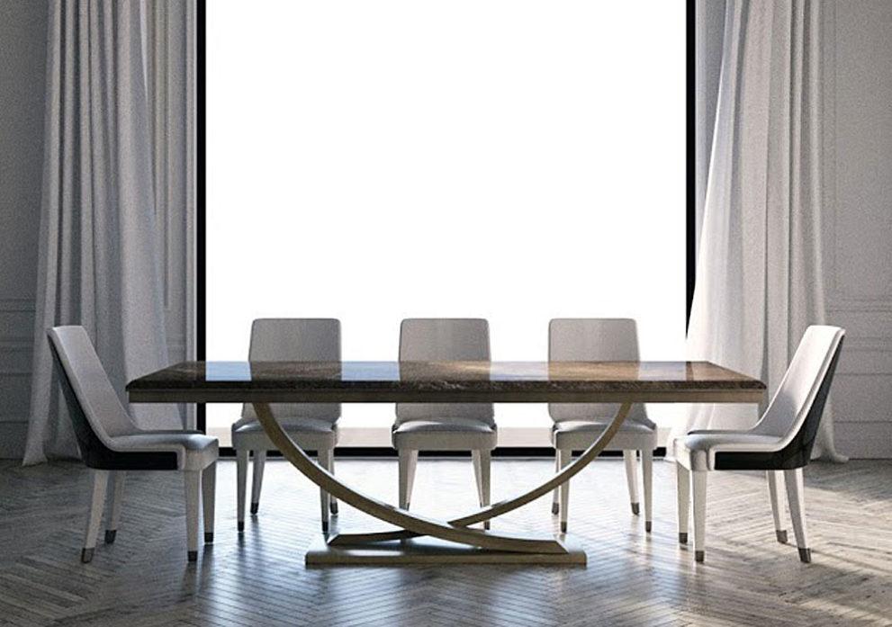 Konferenztisch/ Esstisch HAUSMANN L.240 x B.110 x H.76 cm