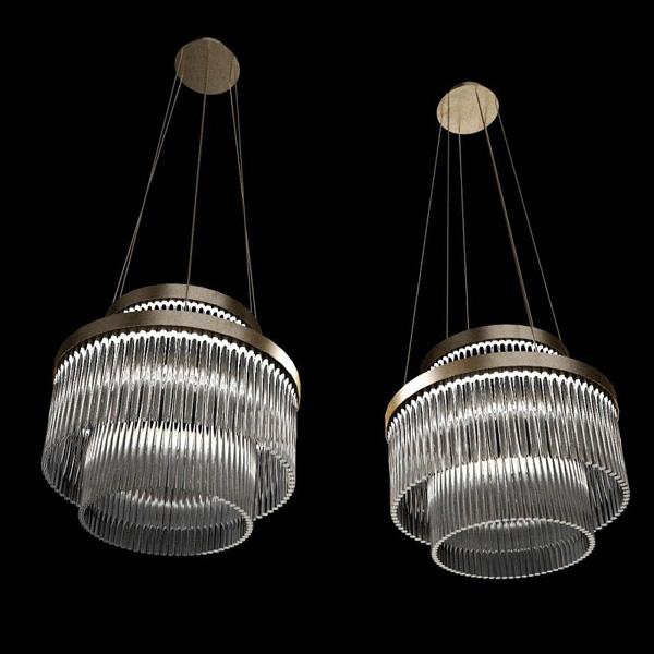 Deckenlüster PARIS-100-LED. D.100 x H.53 cm