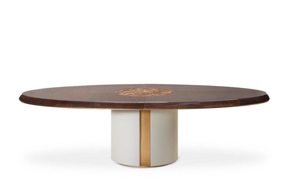Konferenztisch/ Esstisch ELYSEE-HAUSSMANN oval