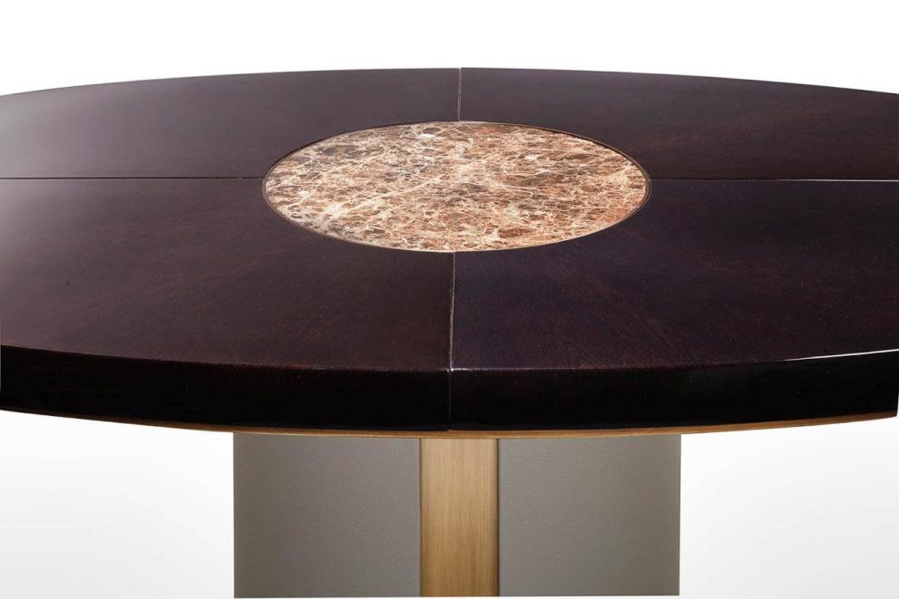 Konferenztisch/ Esstisch ELYSEE-HAUSSMANN rund oder oval