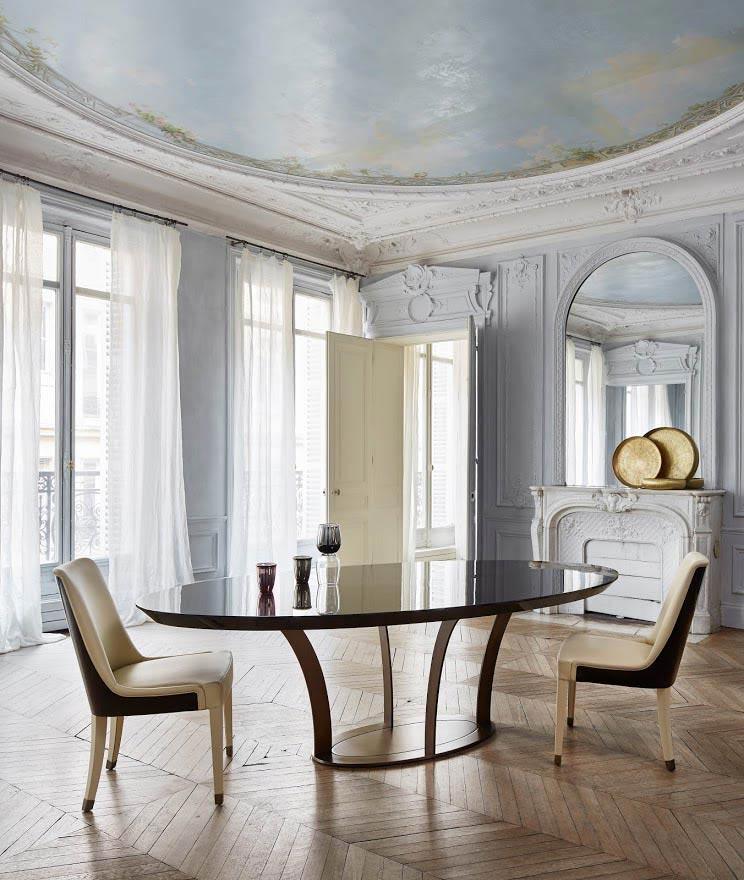 Konferenztisch/ Esstisch PARIS oval