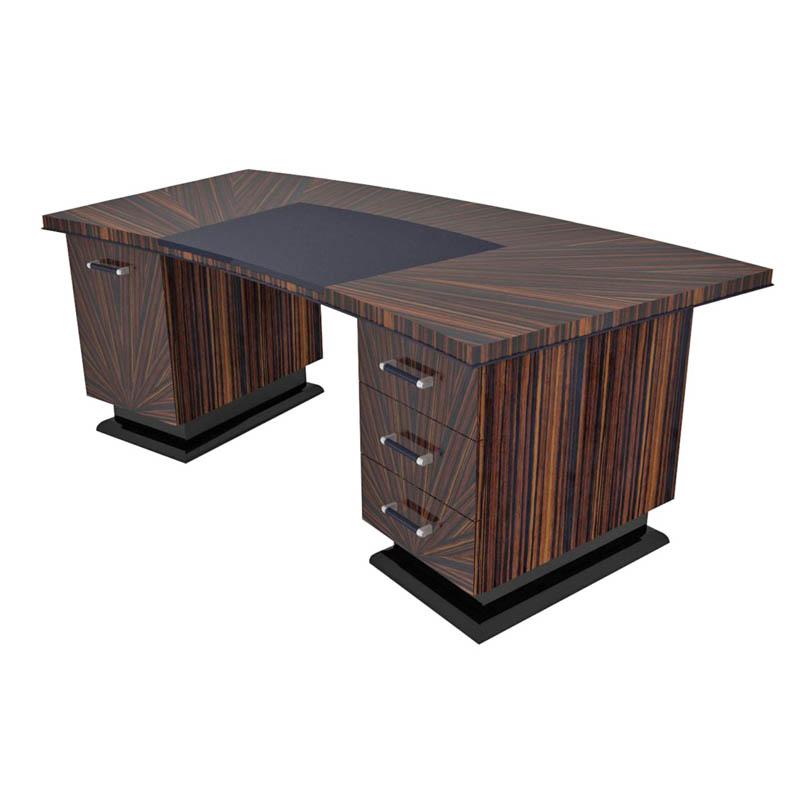 Schreibtisch D009. B.220 x T.100 x H.78 cm