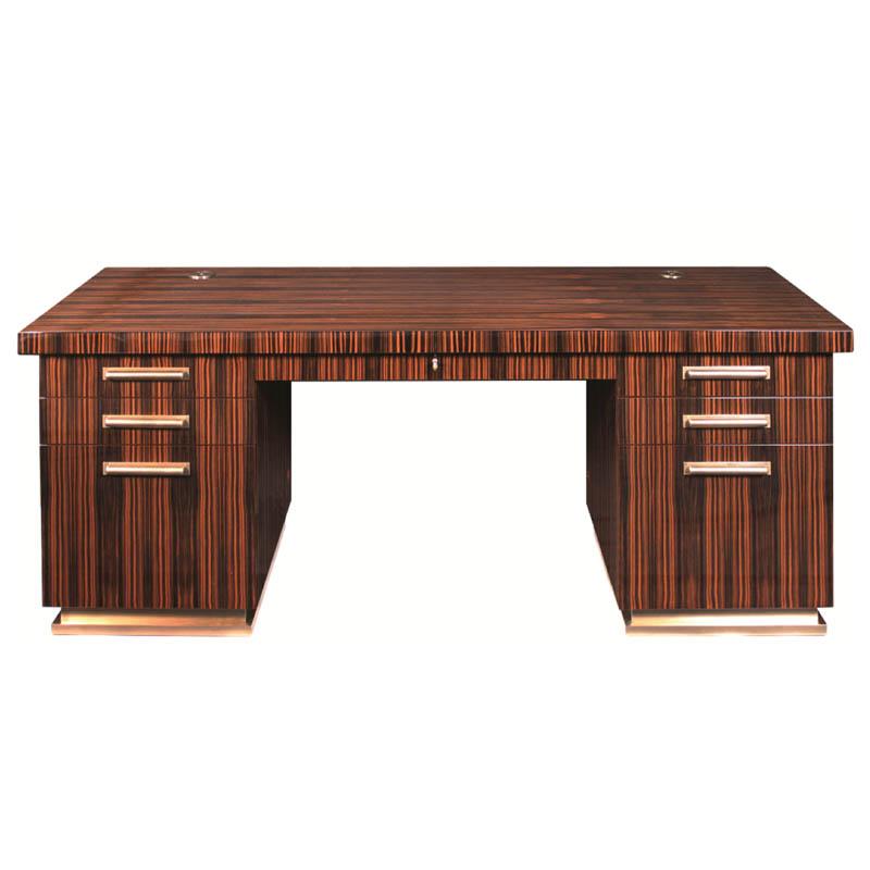 Schreibtisch D028. B.208 x T.76 x H.77 cm