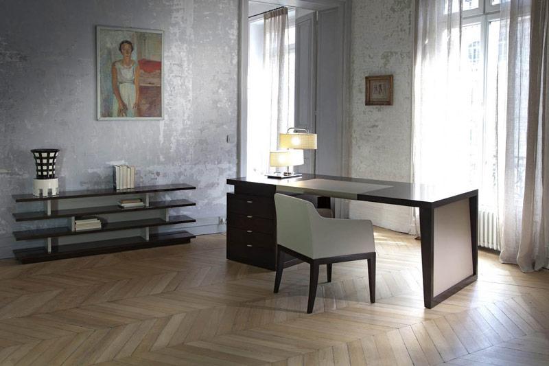 Schreibtisch ANDREWS-ICONIC. B.200 oder 240 x T.90 x H.77 cm