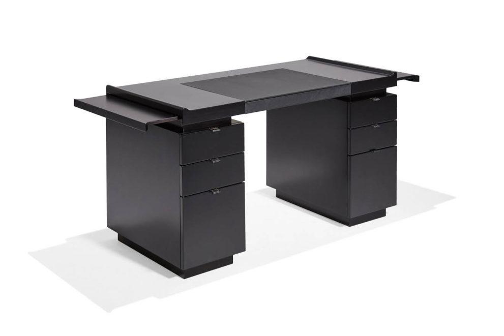 Schreibtisch PRINCETON-ICONIC. B.140 oder 160 x T.70 x H.76 cm