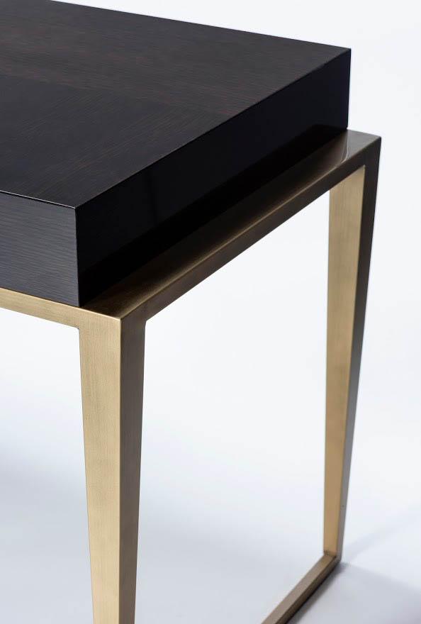 Schreibtisch CONTI-SAINT-GERMAIN. B.150 oder 180 x T.65 x H.76 cm