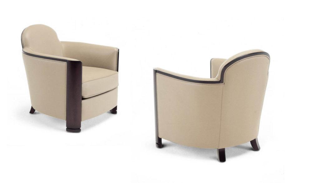 Kleiner Sessel LOBBY-ICONIC. B.66 x T.77 x H.72 cm