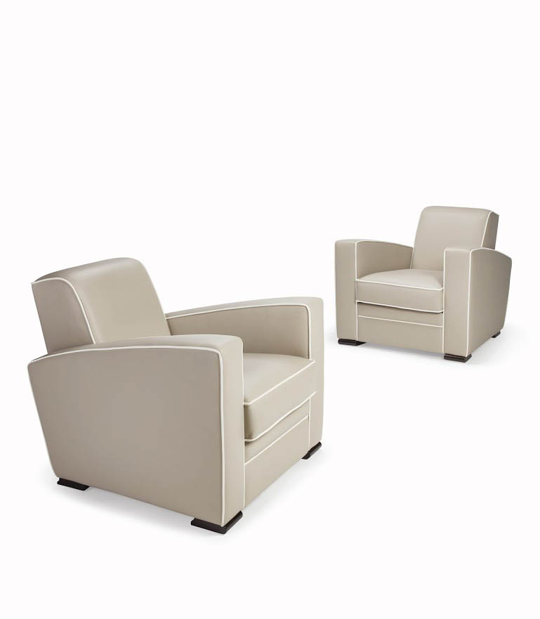 Sessel mit Kontrastkedern Streamline CITIZEN-ICONIC. B.85 x T.94 x H.77 cm
