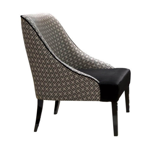 Kleiner Sessel VICKY. B.65 x T.75 x H.87 cm