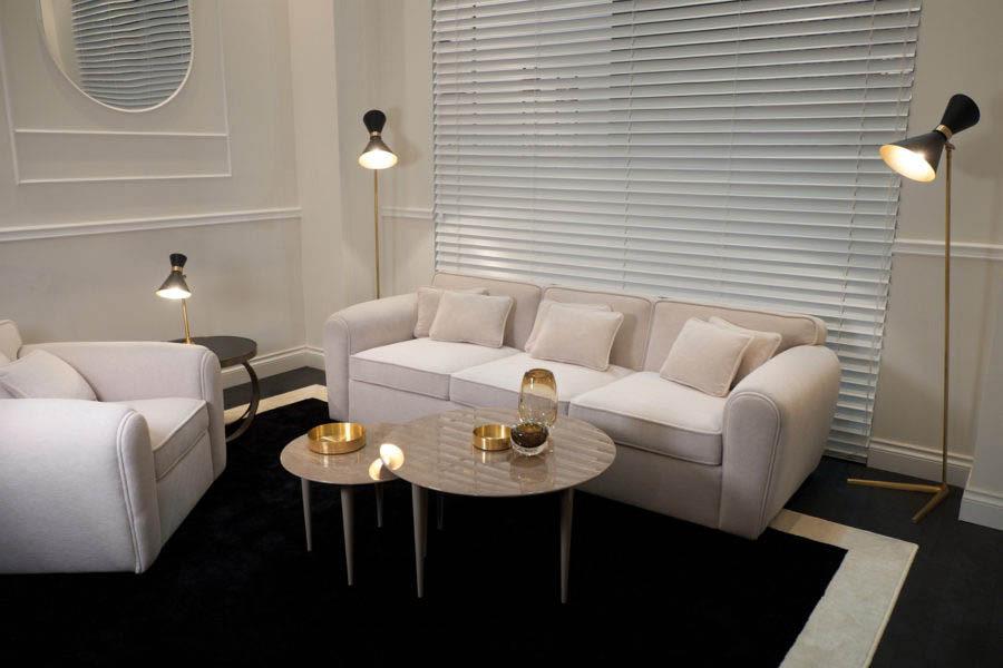 Sofa MOER. B.182/ 247/ 312 x T.96 x H.72 x SH.43 cm