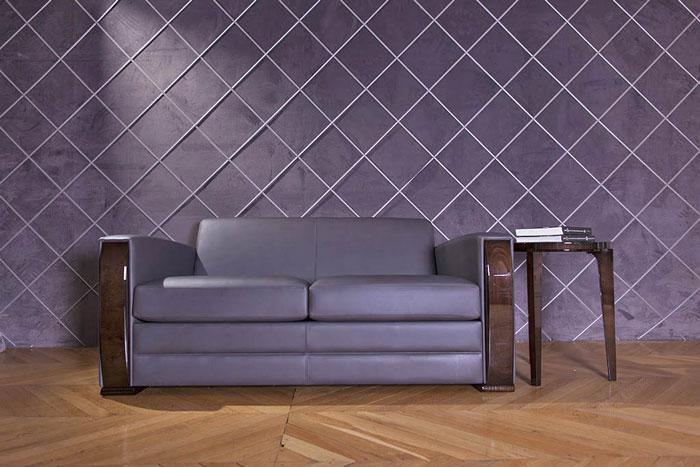 Sofa PULLMANN-ICONIC. B.170 oder 230 x T.96 x H.74 cm
