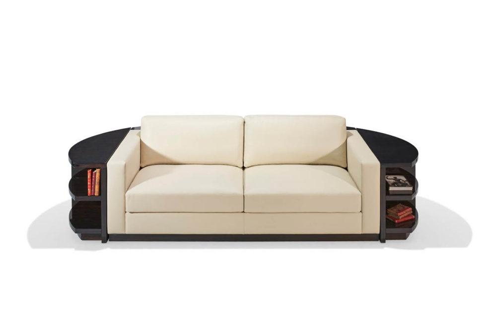 Sofa RONDO-ICONIC. B.300 x T.90/ 135 x H.65 cm