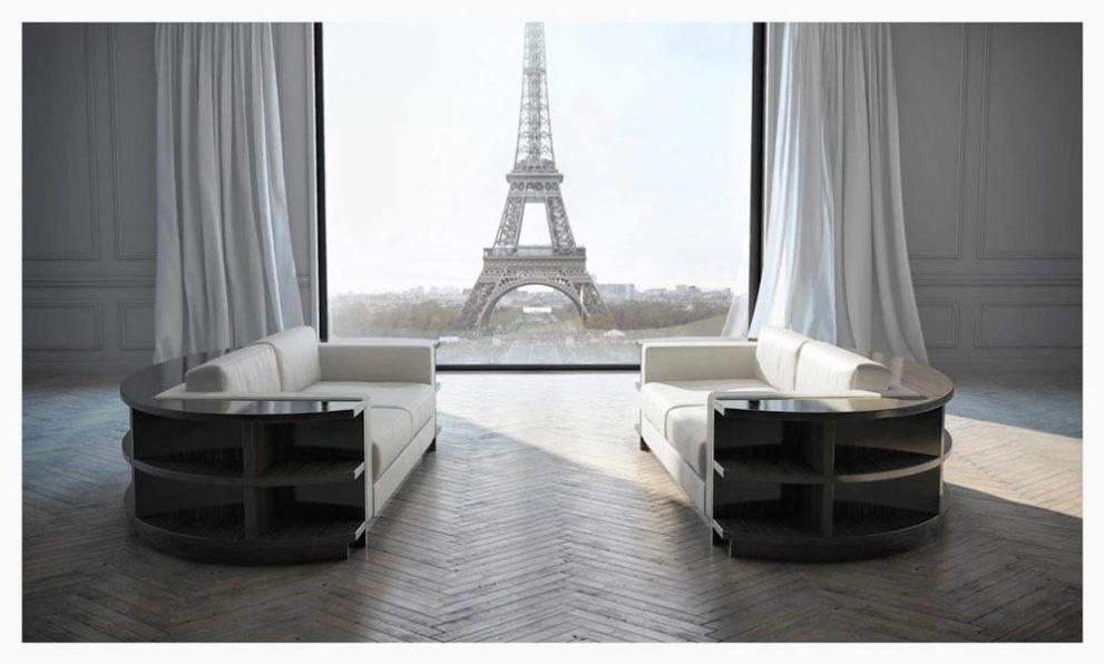 Sofa RONDO-ICONIC. B.300 x T.135 x H.65 cm
