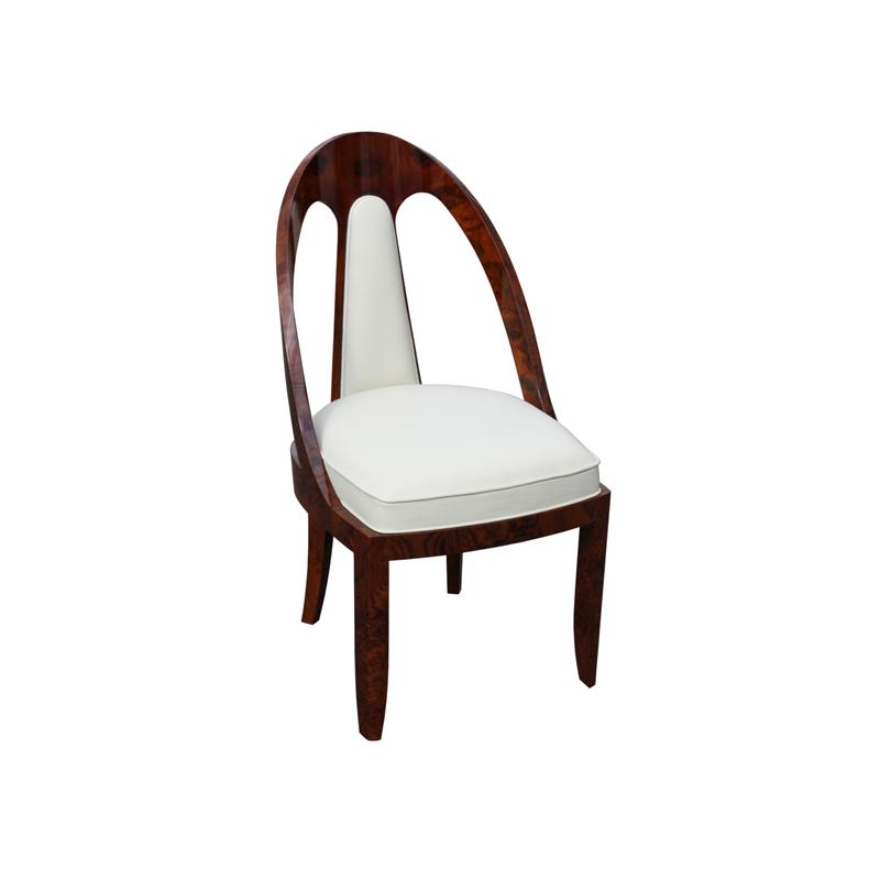 Stuhl nach J.E.RUHLMANN ST092. B.49 x T.60 x H.96 cm