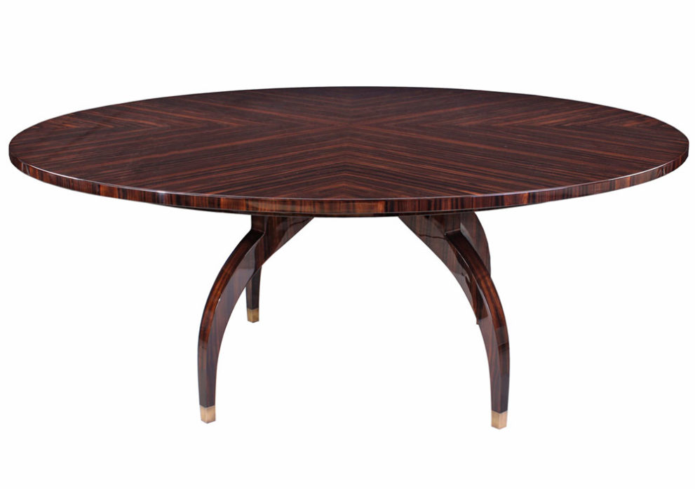 Konferenztisch/ Esstisch T001. D.137 x H.78 cm