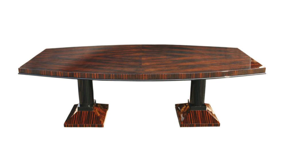 Konferenztisch / Esstisch T003. L.250 x B.130 x H.78 cm