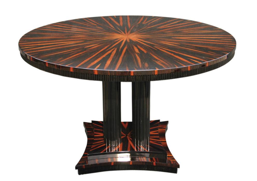 Konferenztisch/ Esstisch T008. D.120 x H.78 cm