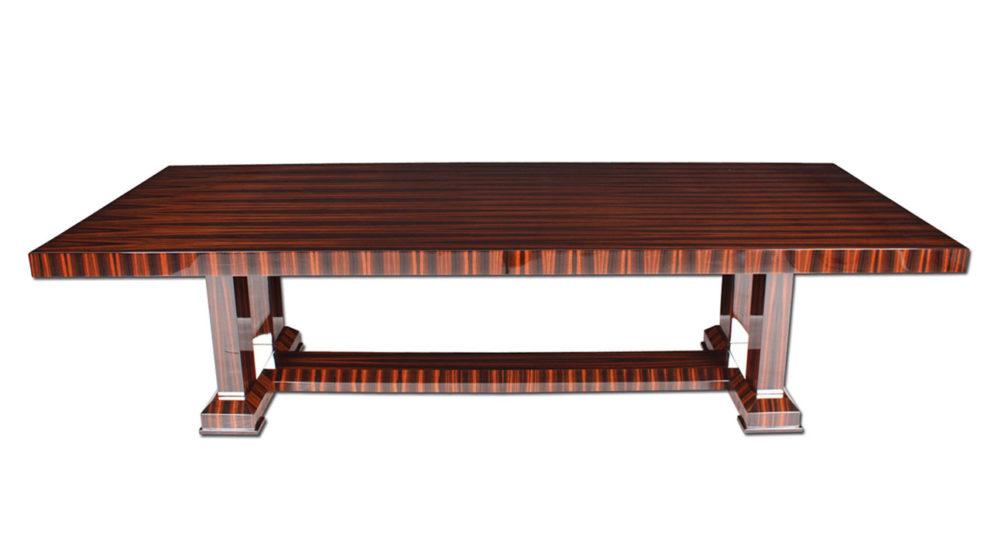 Konferenztisch / Esstisch T048. L.300 x B.125 x H.78 cm