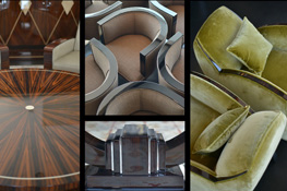 Verschiedene Möbelstücke Art Deco