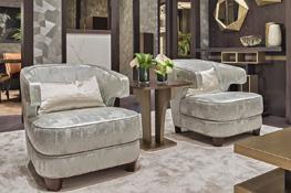 Sitzgelegenheit in Art Deco Style Inspiration