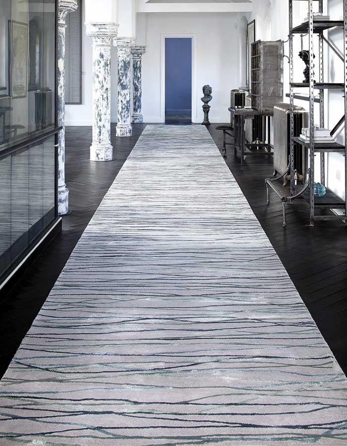 STEPEVI-Teppich CROSSOVER. Verschiedene Qualitäten, Farben und Maße nach Wunsch.
