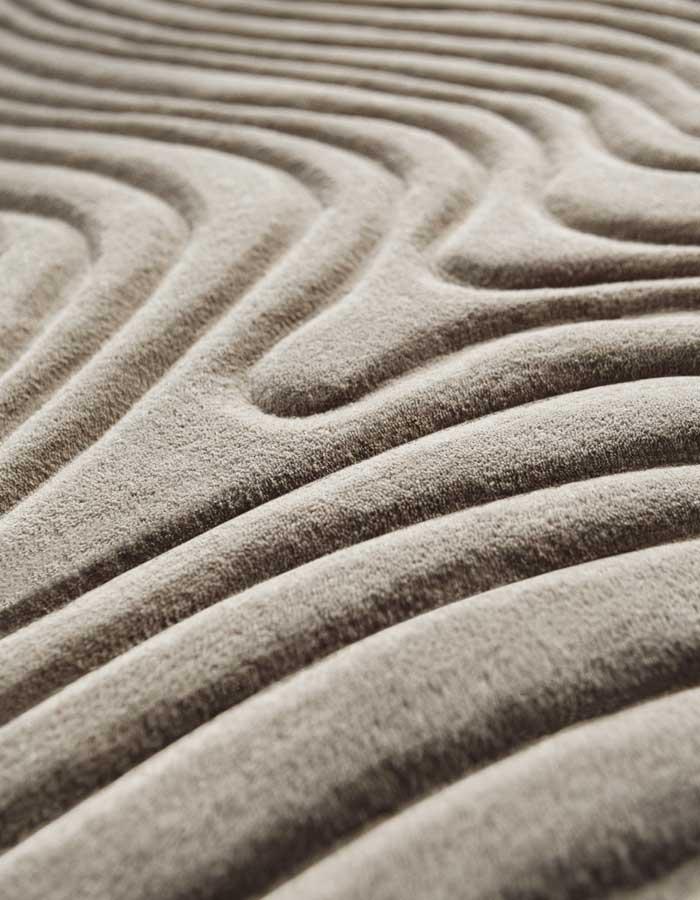 STEPEVI-Teppich DEMURE. Verschiedene Qualitäten, Farben und Maße nach Wunsch.