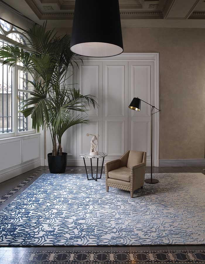 STEPEVI-Teppich FADE. Verschiedene Qualitäten, Farben und Maße nach Wunsch.
