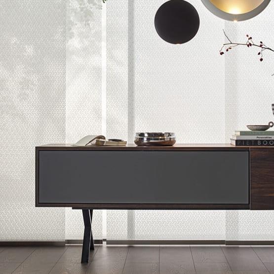 Sideboard in grau und Holz