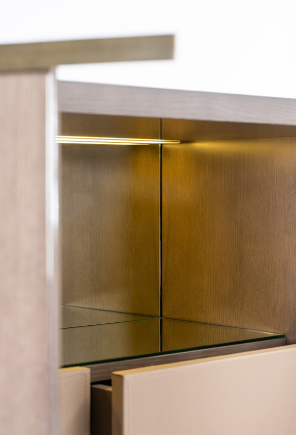 Barschrank Paris 80 Detail