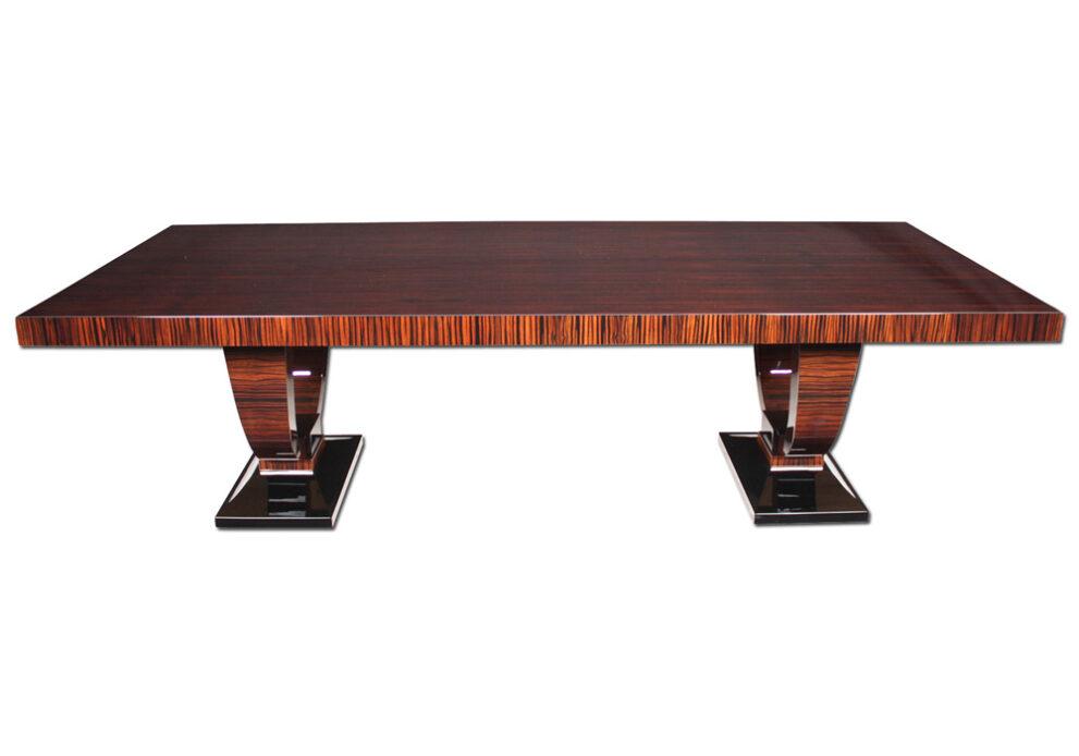 Tisch T021 braun schwarz frontal 1000x700