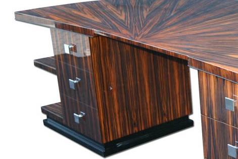 Schreibtisch D001. B.240 x T.110 x H.78 cm