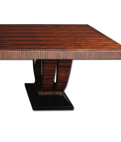 Konferenztisch / Esstisch T044. L.250 + 2x 50 x B.115 x H.78 cm