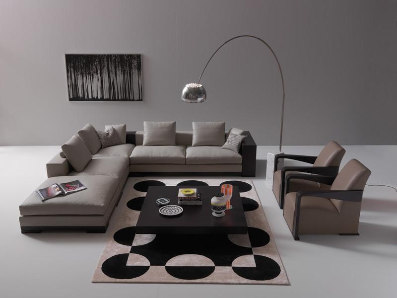 Sofagruppe HADRIEN & Sessel YING.