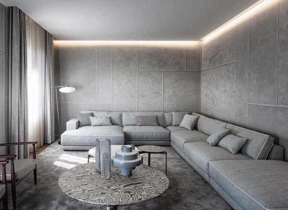 Sofagruppe SUITE, einzelne Module frei kombinierbar