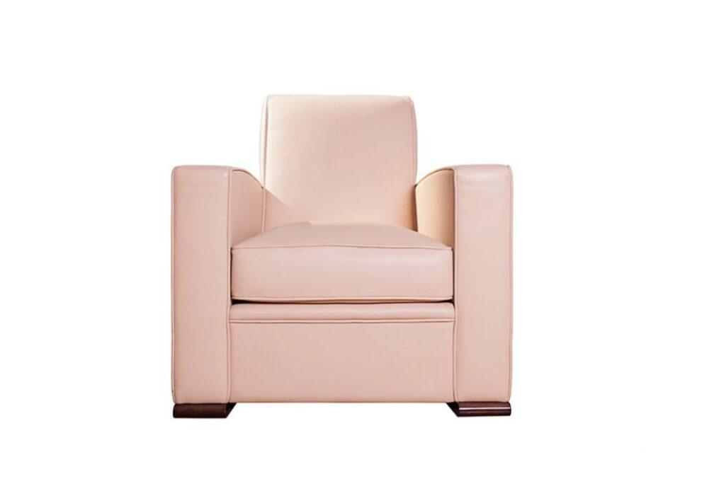 Sessel Citizen Iconic in rosa Vorderansicht