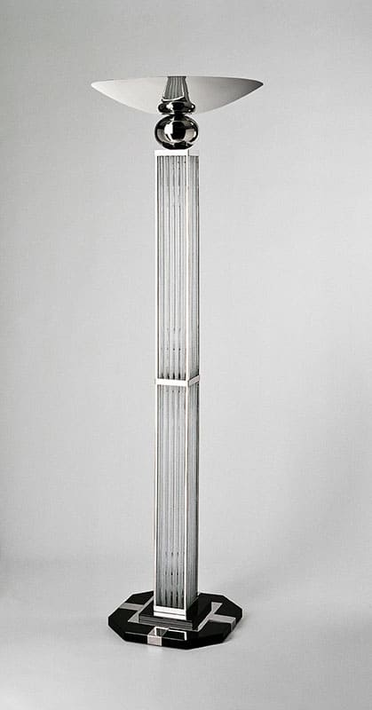 Stehleuchte SL16, H.190 x D.60 cm, 4x E14, 1x E27, illuminiert.
