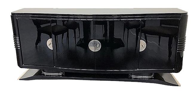 Sideboard mit geschwungener Form klein Frontansicht