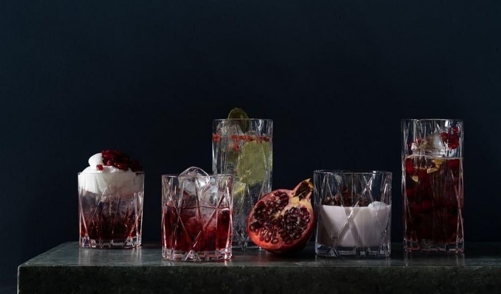 Bar- und Cocktailgläser von Orrefors