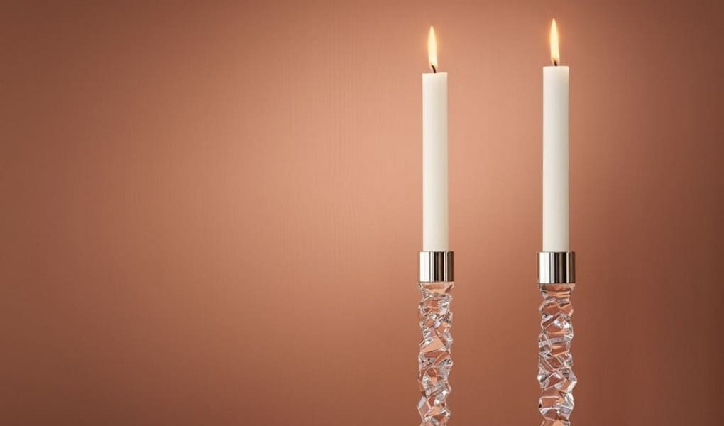 Kerzenhalter von Orrefors