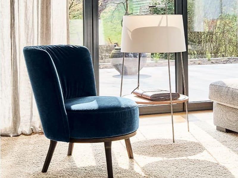 Bielefelder Werkstätten Sessel in blau
