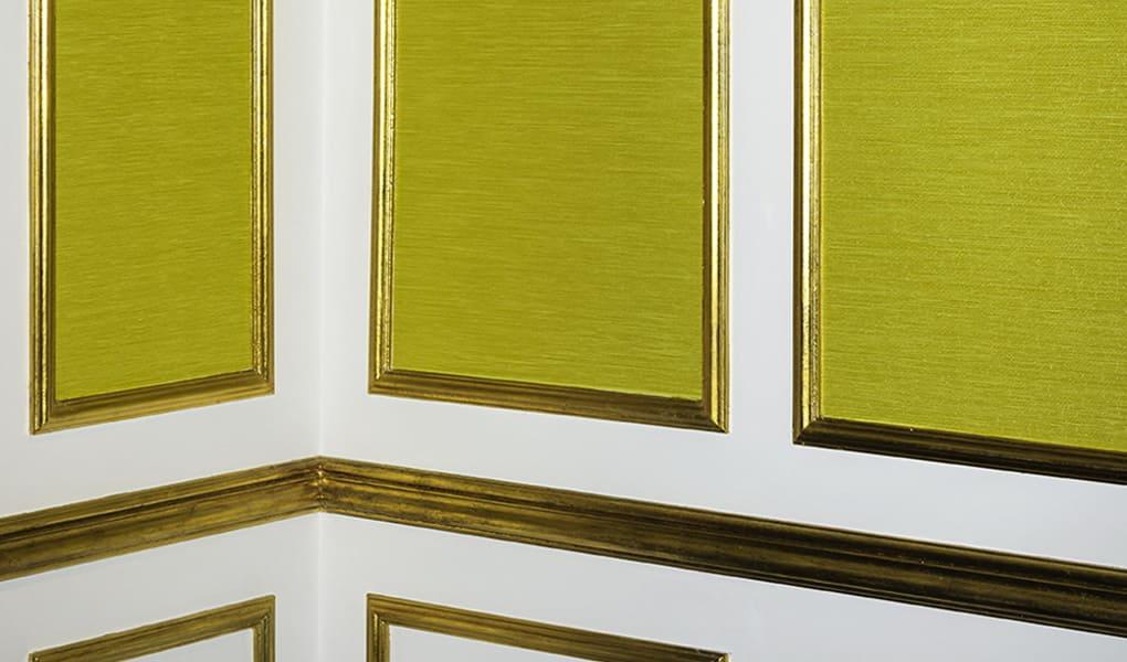 Tapeten in Gelbton von Dedar Milano