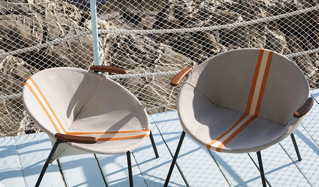 Stoffe für Stühle von Dedar Milano