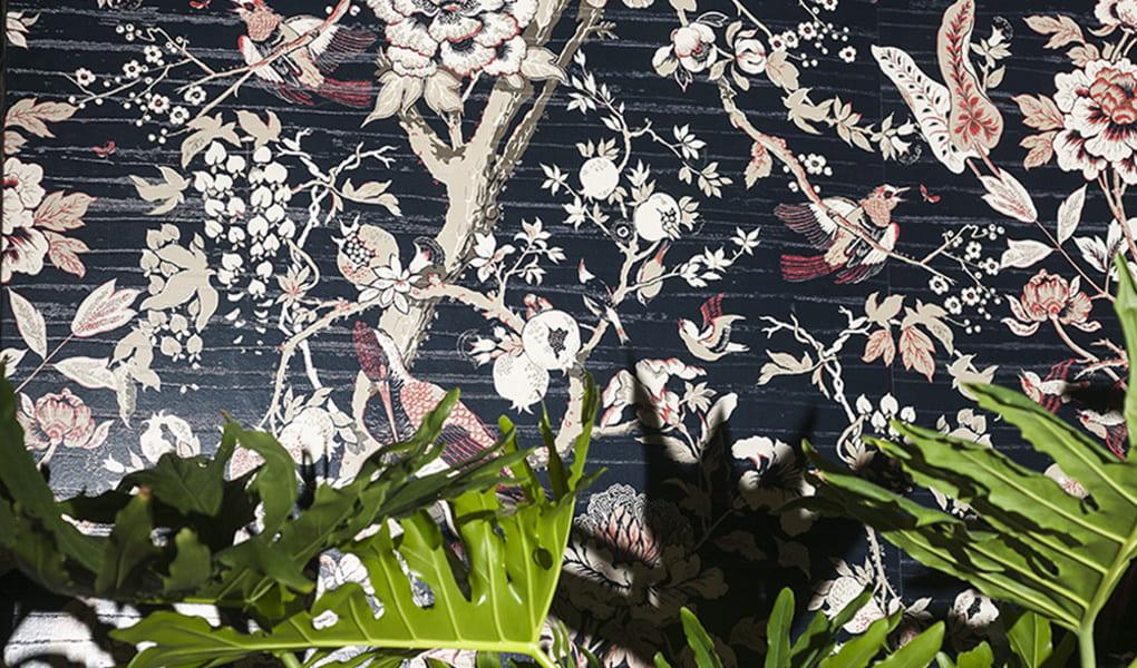 Tapeten mit Frühlingsmuster von Dedar Milano