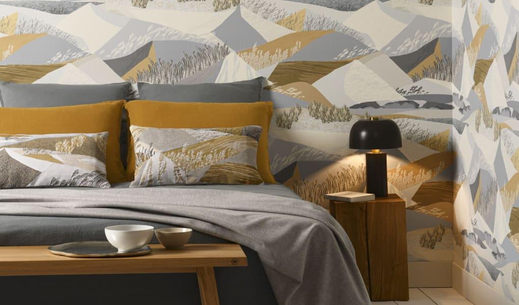 Wandtapeten für Ihr Schlafzimmer von Lelievre Paris